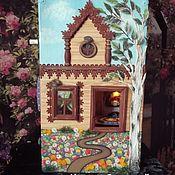 Сумки и аксессуары handmade. Livemaster - original item Suitcase - Chamber No. №2. Handmade.