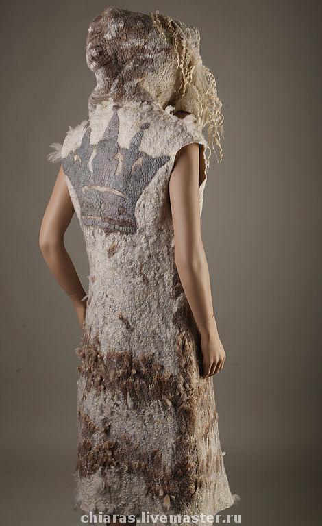 """Верхняя одежда ручной работы. Ярмарка Мастеров - ручная работа. Купить пальто """"капучино для Принцессы"""". Handmade. Эко-стиль"""