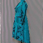 Одежда handmade. Livemaster - original item Cape, pleated, jacquard. Handmade.