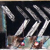 Картины и панно ручной работы. Ярмарка Мастеров - ручная работа Графика. Игры искушения. Яблоко.. Handmade.