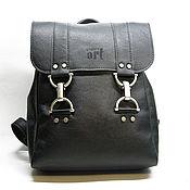 Сумки и аксессуары handmade. Livemaster - original item Backpack black. Handmade.