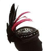 handmade. Livemaster - original item Inga hat with a veil. Handmade.