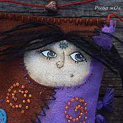 Куклы и игрушки ручной работы. Ярмарка Мастеров - ручная работа Шаманка Наюби.Ароматизированная кукла из испанского фетра.. Handmade.