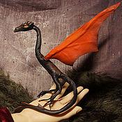 Куклы и игрушки ручной работы. Ярмарка Мастеров - ручная работа дракон Файри  лава огонь игрушка вулкан. Handmade.