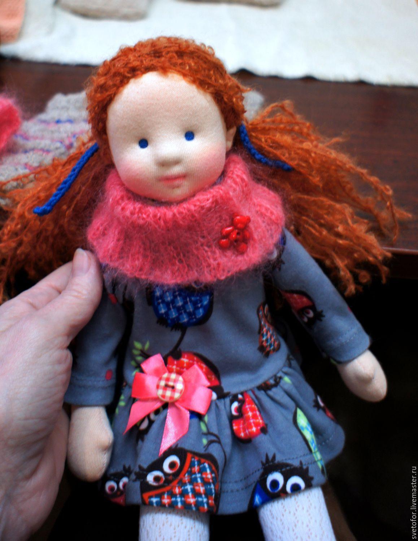 Вальдорфская игрушка ручной работы. Ярмарка Мастеров - ручная работа. Купить Маргоша, 34 см. Handmade. Игрушка, кукла в подарок
