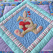Для дома и интерьера handmade. Livemaster - original item Quilt for a boy