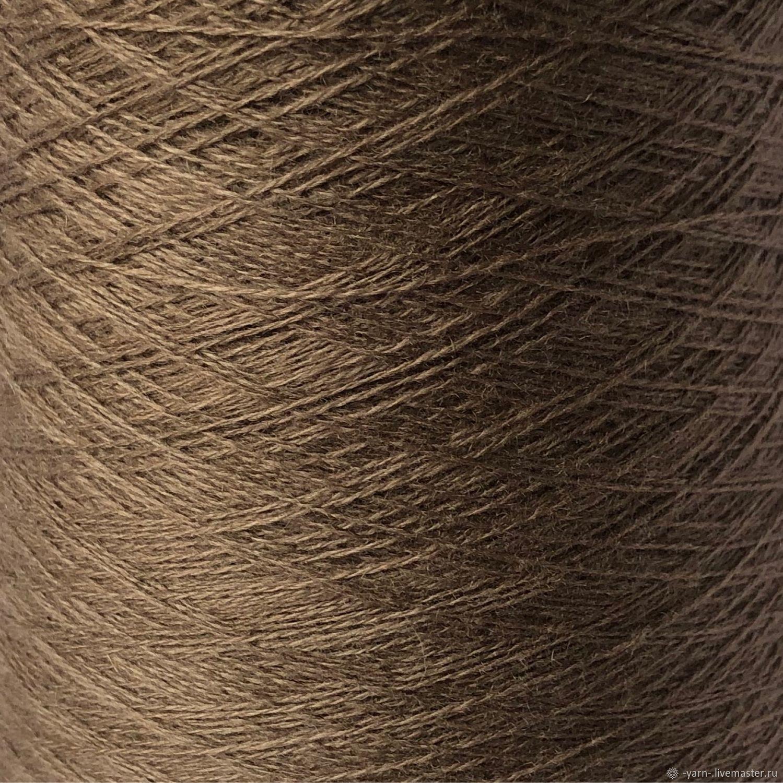 Пряжа Кашемир 2/28 коричневый – купить на Ярмарке Мастеров – MV4VYRU | Пряжа, Санкт-Петербург