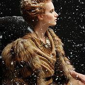 """Одежда ручной работы. Ярмарка Мастеров - ручная работа Шубка """"Офелия"""". Handmade."""