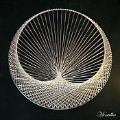 Картины и панно ручной работы. Ярмарка Мастеров - ручная работа Картины в стиле String Art (изонить, стринг арт). Handmade.