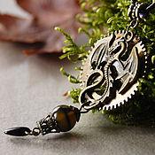 Субкультуры ручной работы. Ярмарка Мастеров - ручная работа Mechanical dragon стимпанк кулон. Handmade.