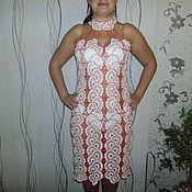 """Одежда ручной работы. Ярмарка Мастеров - ручная работа платье из хлопка """"Утренняя свежесть"""". Handmade."""