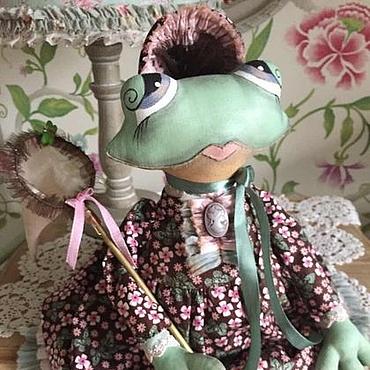 Куклы и игрушки ручной работы. Ярмарка Мастеров - ручная работа Кукла Лягушка. Жаба.. Handmade.