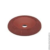Материалы для творчества ручной работы. Ярмарка Мастеров - ручная работа Рашпильный диск для болгарки выпуклый средний. Handmade.