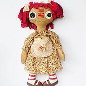 Куклы и игрушки ручной работы. Ярмарка Мастеров - ручная работа Текстильная кукла Реггеди Энн. Handmade.