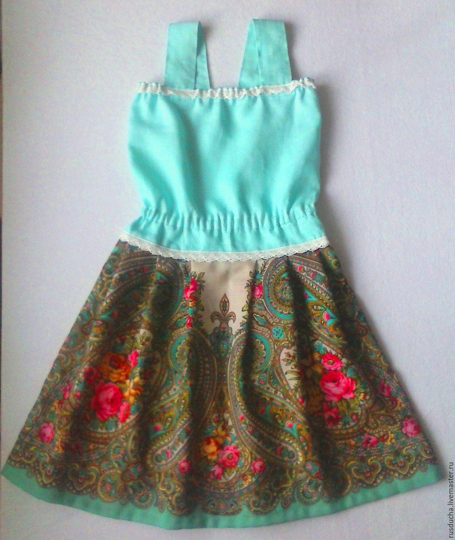 Как сшить сарафан или юбку для девочки 21