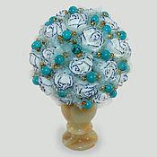 Цветы и флористика handmade. Livemaster - original item Flowers turquoise