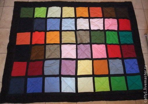 Текстиль, ковры ручной работы. Ярмарка Мастеров - ручная работа. Купить Одеяло покрывало Радуга. Handmade. Лоскутное одеяло