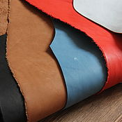 Материалы для творчества handmade. Livemaster - original item a set of leather crust no. №1. 1,2-1,5 mm thick.. Handmade.