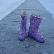 Обувь ручной работы handmade. Livemaster - original item Felted boots