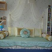 Для дома и интерьера ручной работы. Ярмарка Мастеров - ручная работа Шторы на заказ ( покрывала и подушки) все мои личные работы. Handmade.