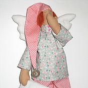 Куклы и игрушки ручной работы. Ярмарка Мастеров - ручная работа Сонный Ангел Тильда - интерьерная игрушка. Handmade.
