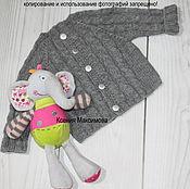 Работы для детей, handmade. Livemaster - original item jacket for a boy