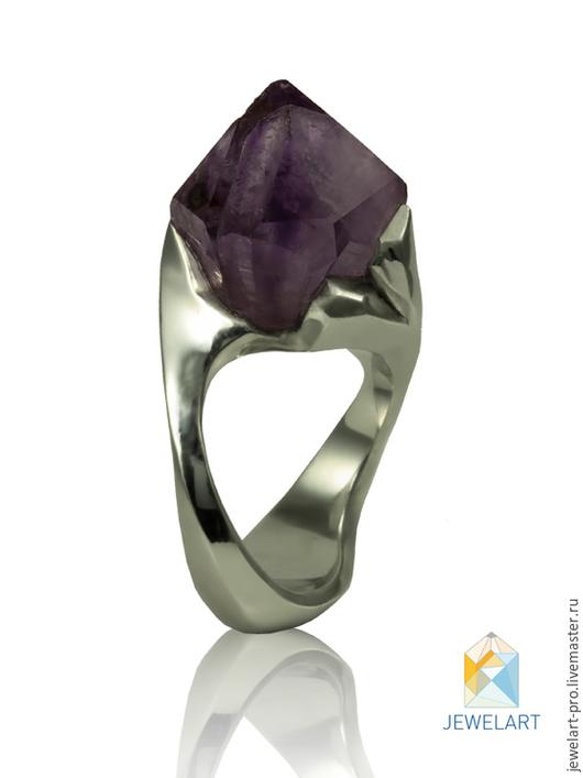кольцо аметист, кольцо с аметистом фото, кольцо натуральный аметист,  аметист в серебре купить, кольцо серебро аметист,  аметист серебро, натуральный аметист кольцо, природный аметист, jewelart,