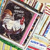 """Для дома и интерьера ручной работы. Ярмарка Мастеров - ручная работа Лоскутное покрывало """"Пикник"""". Handmade."""