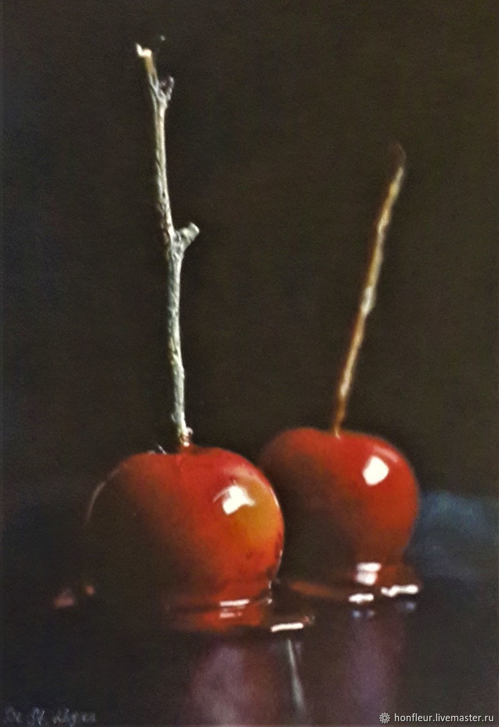 Caramel apples, Pictures, Moscow,  Фото №1