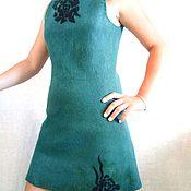 Одежда handmade. Livemaster - original item Tunic dress made of wool. Handmade.