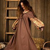Одежда ручной работы. Ярмарка Мастеров - ручная работа Платье Чайная роза. Handmade.