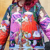 """Одежда ручной работы. Ярмарка Мастеров - ручная работа Куртка из коллекции """"Алиса в стране Чудес"""". Handmade."""