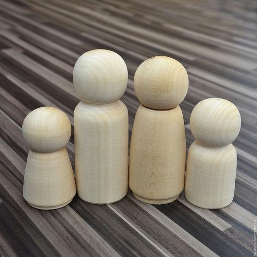 Куклы и игрушки ручной работы. Ярмарка Мастеров - ручная работа. Купить Заготовки деревянные куклы для росписи. Handmade. Материалы для творчества