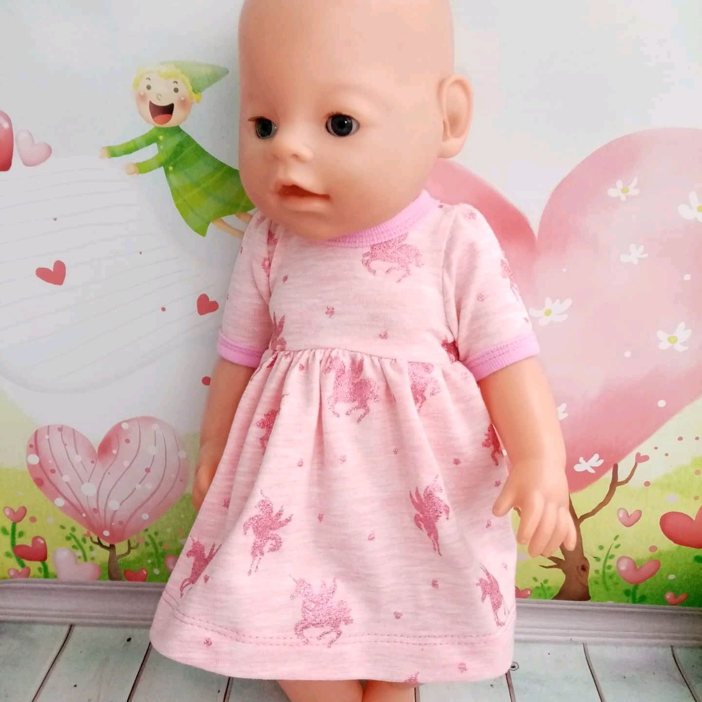 Платье  для куклы Беби Бон и аналогов, Одежда для кукол, Кимры,  Фото №1