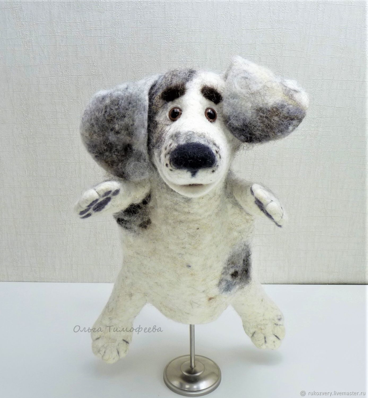 Дружок - игрушка на руку (бибабо), Кукольный театр, Омск,  Фото №1