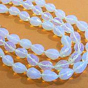 Материалы для творчества handmade. Livemaster - original item Opalite imitation beads drop for jewelry. PCs. Handmade.