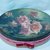 """Для дома и интерьера ручной работы. Ярмарка Мастеров - ручная работа Шкатулка """"Roses"""". Handmade."""