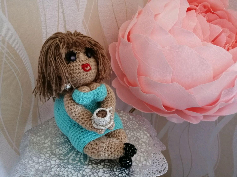 "Кукла ""чаёвница"", Куклы и пупсы, Петрозаводск,  Фото №1"