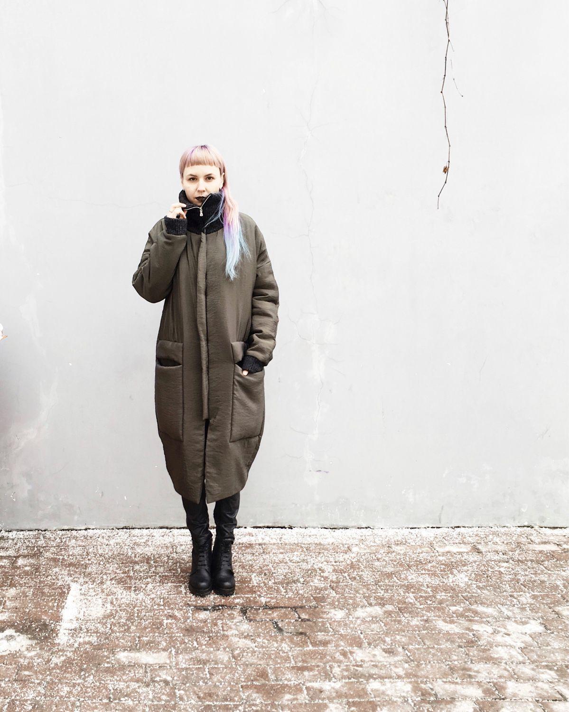 0f0ae80fca8 Верхняя одежда ручной работы. Ярмарка Мастеров - ручная работа. Купить  Весеннее пальто-кокон ...
