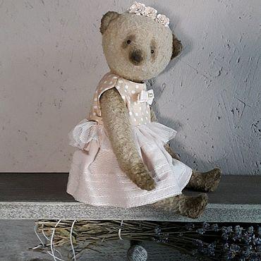 Куклы и игрушки ручной работы. Ярмарка Мастеров - ручная работа Тедди мишка Иванка. Handmade.