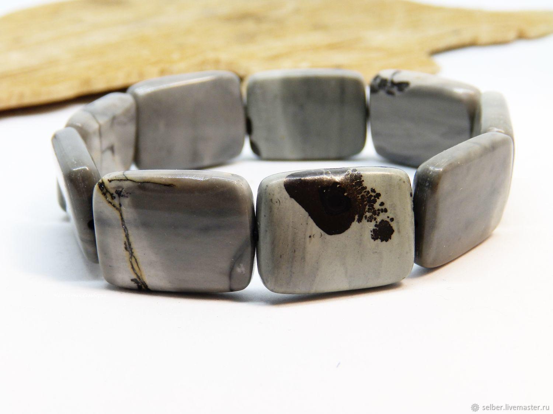 The bracelet is the Signs of Destiny (siltstone), Bead bracelet, Gatchina,  Фото №1