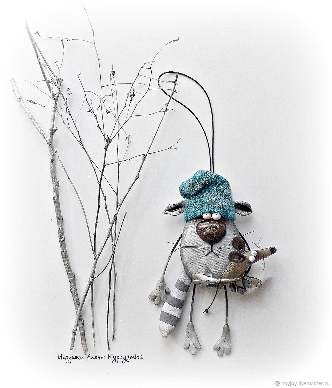 Кот Мяун и крыс Пискун, Мини фигурки и статуэтки, Владивосток,  Фото №1