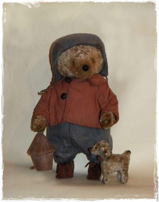 Мишки Тедди ручной работы. Ярмарка Мастеров - ручная работа. Купить Весна пришла. Handmade. Комбинированный, мишка в одежке