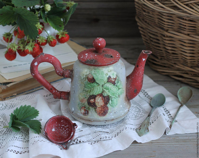 чай с земляникой купить