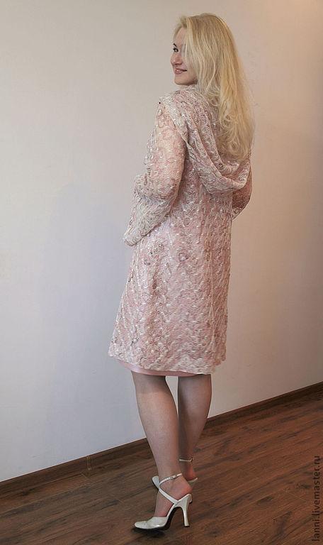 Платья ручной работы. Ярмарка Мастеров - ручная работа. Купить Наряд для венчания. Handmade. Бледно-розовый, кружево, одежда для женщин