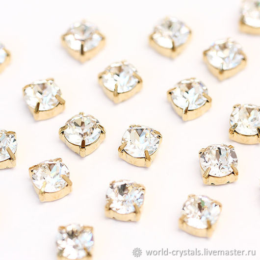 Кристаллы № 001 Crystal. Оправы под золото.