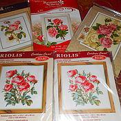 Материалы для творчества handmade. Livemaster - original item Embroidery kits - roses. Handmade.
