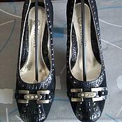 Обувь винтажная ручной работы. Ярмарка Мастеров - ручная работа Старые новые туфли. Handmade.