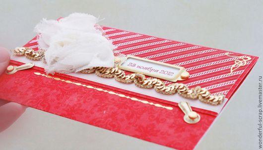 Свадебные открытки ручной работы. Ярмарка Мастеров - ручная работа. Купить Конверт для денег на свадьбу. Handmade. Приглашения на свадьбу