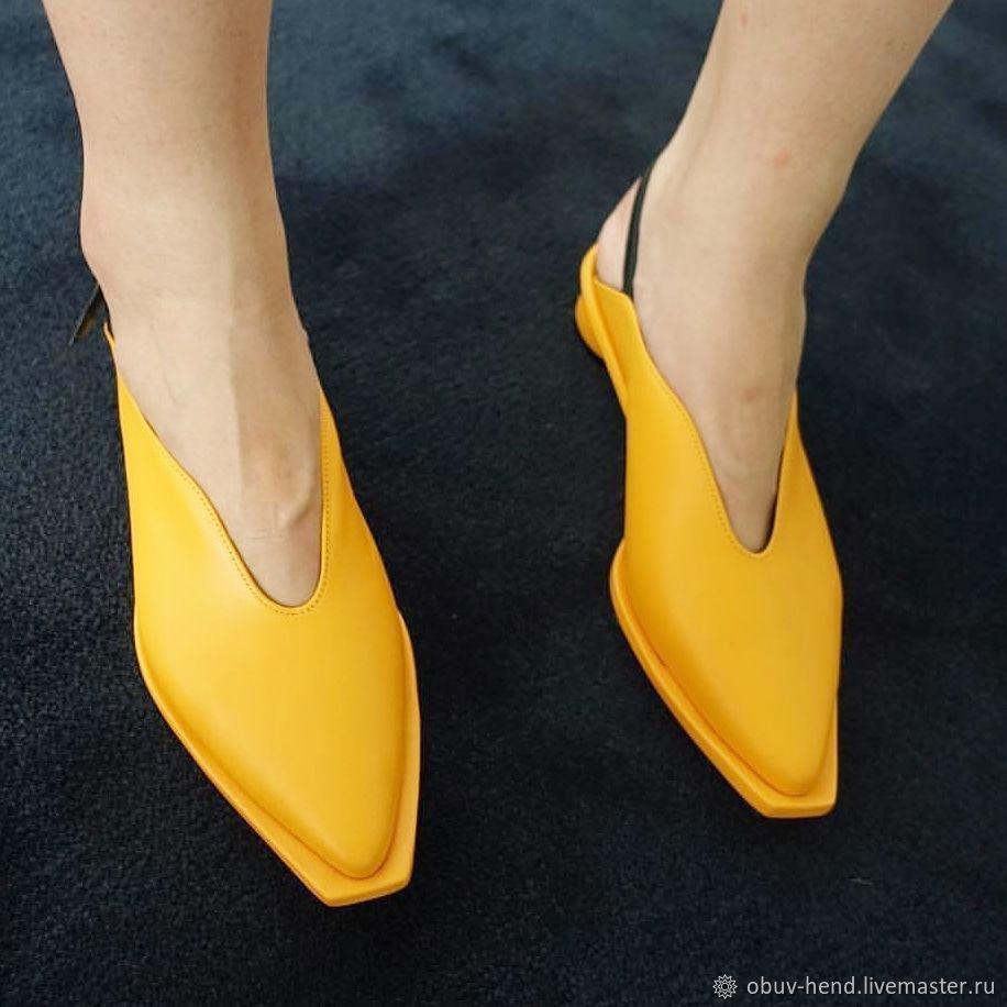 Обувь ручной работы. Ярмарка Мастеров - ручная работа. Купить Сабо. Handmade. Сумка женская, обувь на заказ, сабо
